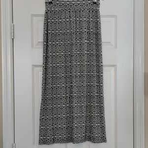 LOFT Outlet Printed Maxi Skirt